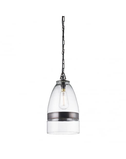Endon Ostola Single Light Modern Pendant Light EH-OSTOLA
