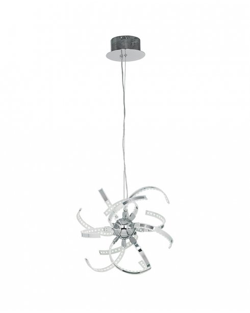 Endon Pacino Single Light Modern Semi-Flush Fitting PACINO-CH-S