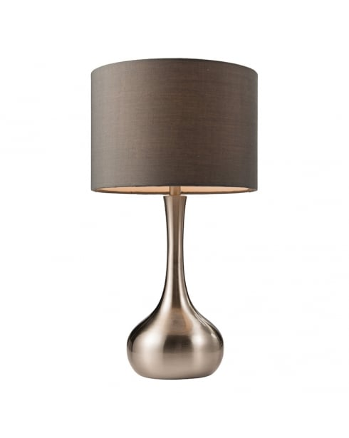 Endon Piccadilly Modern Steel Incidental Table Lamp 61192