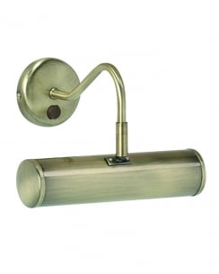 Endon PL200-E14-SWAN Turner Single Light Traditional Picture Light