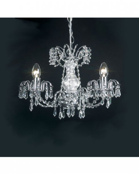 Endon Rumba 3 Light Traditional Chandelier 96553-CH