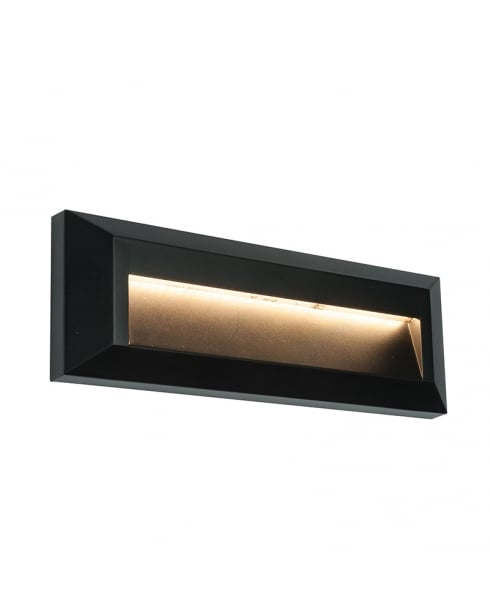 Endon Severus Modern Black Porch Light 61214