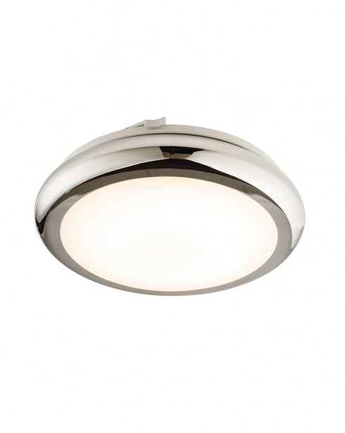 Endon Sigma LED Modern Chrome Bathroom Ceiling 61212