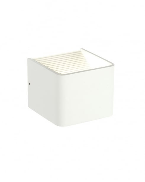 Endon Slater Modern White Decorative Wall Light 55591