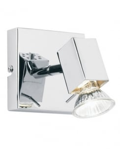 Endon Grove EL-10049 Single Light Modern Wall Mounted Spotlight