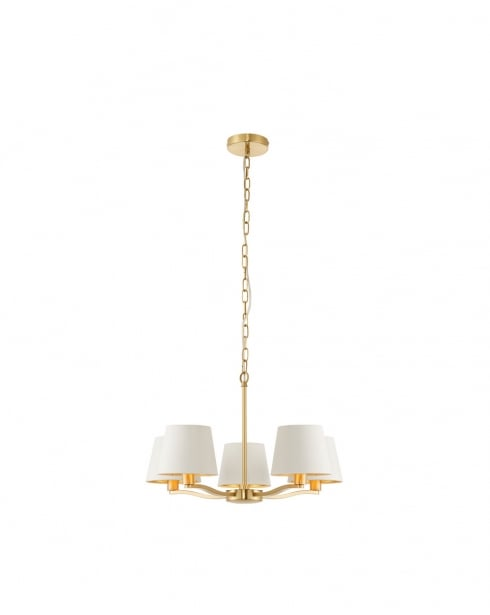 Endon Harvey Modern Gold Multi-Arm Pendant 67734