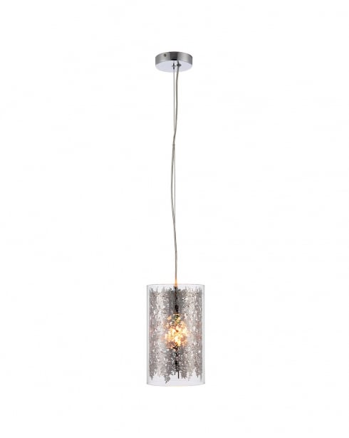 Endon Lacy Modern Clear Pendant Light 70181