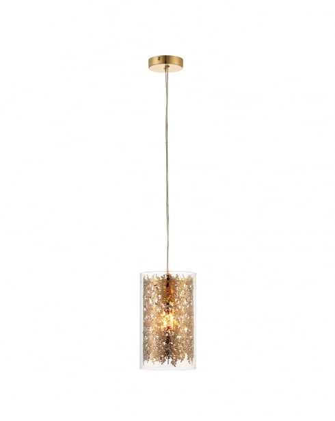 Endon Lacy Modern Clear Pendant Light 70341