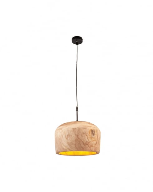 Endon Lucy Modern Natural Pendant Light 68996