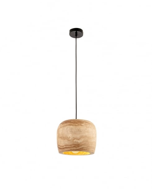 Endon Lucy Modern Natural Pendant Light 68997