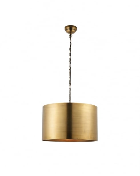 Endon Morad Modern Brass Pendant Light 69782