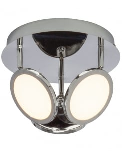Endon Pluto Modern Chrome Spotlight Fitting G3053415