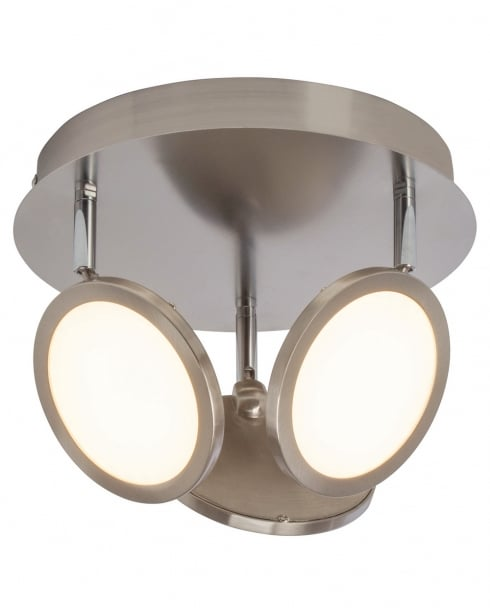 Endon Pluto Modern Nickel Spotlight Fitting G3053413