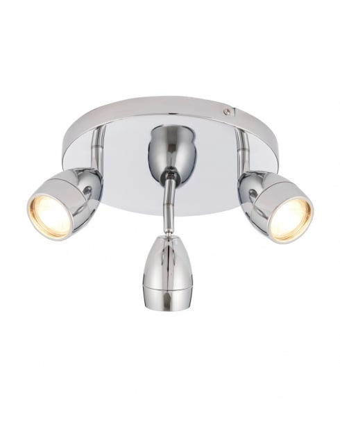 Endon Porto Modern Chrome Bathroom Spotlight 73692