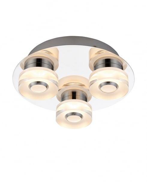 Endon Rita Modern Chrome Bathroom Ceiling 68911