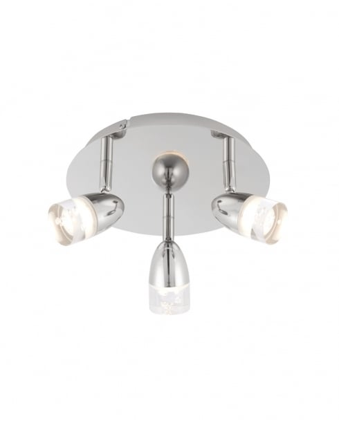 Endon Saul Modern Nickel Spotlight Fitting 73884
