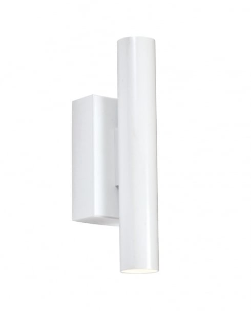 Endon Staten Modern White Decorative Wall Light 73959