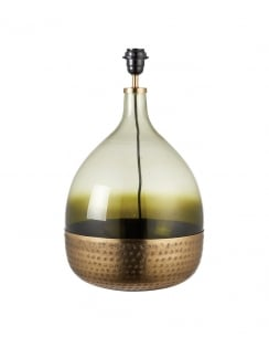 Endon Sultan Modern Green Table Lamp Base Only (No Shade) 69804