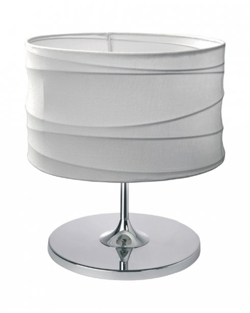Esprit Looping Modern White Incidental Table Lamp 310113