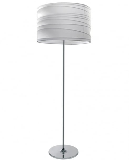 Esprit Looping Modern White Standard Lamp 310112