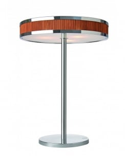 Esprit Lounge Modern Chrome Incidental Table Lamp 309373