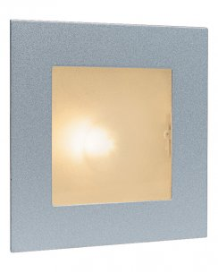 Firstlight 1131SS Single Light Modern Recessed Wall Light
