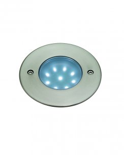 Firstlight 1806WH 9 Light Modern Recessed Outdoor Light
