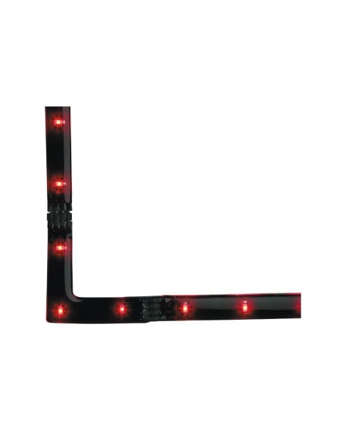 Firstlight 4207RE 3 Light Modern Red LED Strip Light