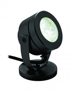 Firstlight 8241BK 3 Light Modern Security Light