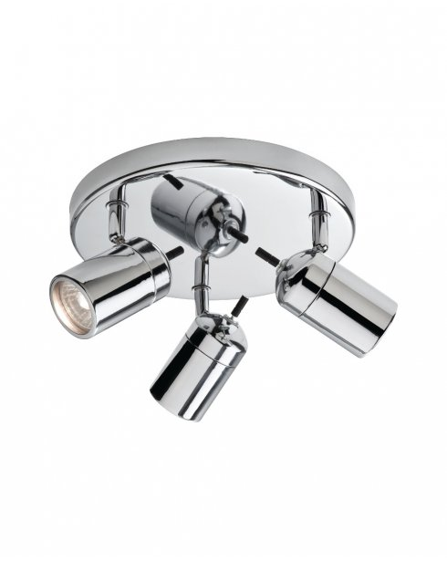 Firstlight Atlantic 3 Light Modern Bathroom Spotlight Fitting 9070CH