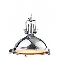 Firstlight Bali Single Light Modern Pendant Light 8626CH