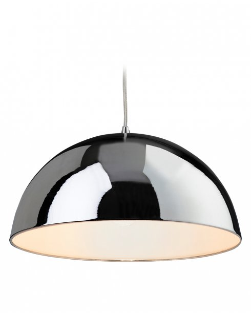 Firstlight Bistro Single Light Modern Pendant Light 8622CHWH