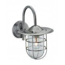Firstlight Cage Single Light Modern Porch Light 8352ST