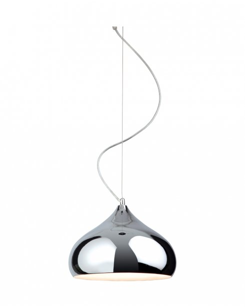 Firstlight Carla Single Light Modern Pendant Light 8306CH