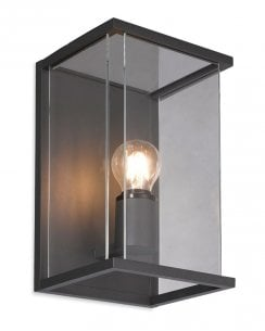 Carlton Graphite Aluminium  IP54 Outdoor Wall Light 5945GP