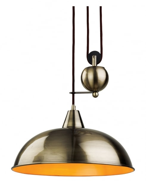 Firstlight Century Single Light Modern Pendant Light 2309AB