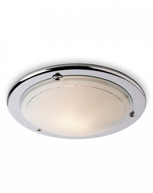 Firstlight CF17CH Single Light Modern Flush Ceiling Fitting