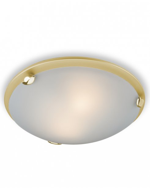 Firstlight Champagne 2 Light Modern Flush Ceiling Fitting F350SB