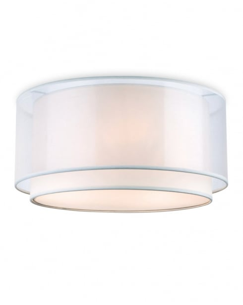 Firstlight Chicago Flush Ceiling Fitting 5914CR