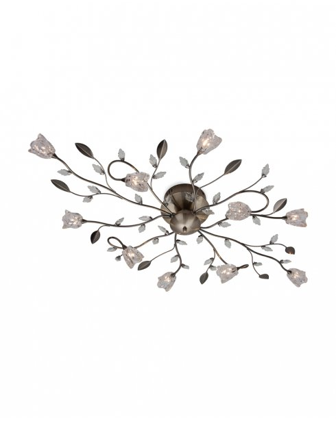 Firstlight Cindy 10 Light Traditional Semi-Flush Fitting 8362AB