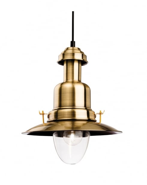 Firstlight Classic Fisherman Pendant Light 4874AB