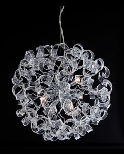 Firstlight Cosmic 6 Light Modern Pendant Light 8121CH