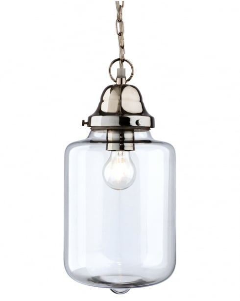 Firstlight Craft Single Light Modern Pendant Light 2348CH