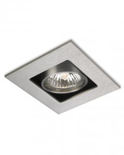 Firstlight Cube Single Light Modern Recessed Ceiling Light 1500BS