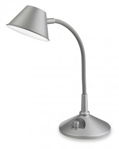 Firstlight Curlie Single Light Modern Desk Lamp 8643SI