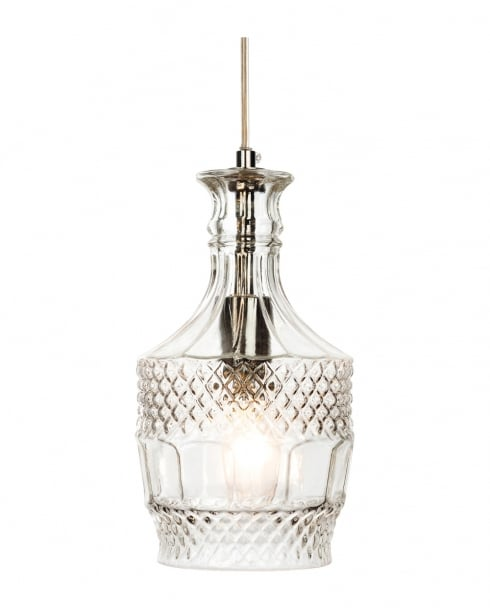 Firstlight Decanter RND Pendant Light 3449CH