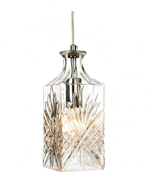 Firstlight Decanter SQ Pendant Light 3447CH