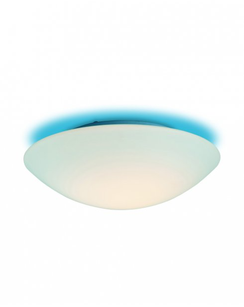 Firstlight Disc Single Light Modern Bathroom Ceiling Fitting CF10BL