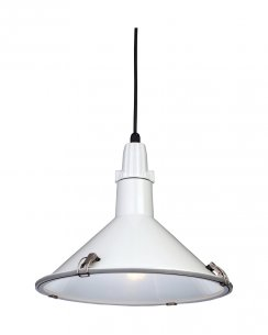 Firstlight Eden Single Light Modern Pendant Light 8313WH