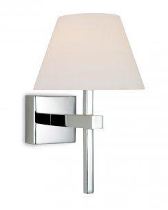 Firstlight Fabio Single Light Modern Bathroom Wall Fitting 8639CH